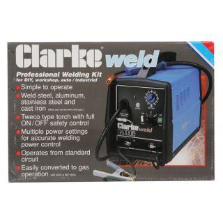 Clarke WE6523 130EN Fluxcore/ MIG Welder