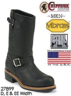 Chippewa Street Warrior 11 Engineer Steel Toe 27899 Shoes