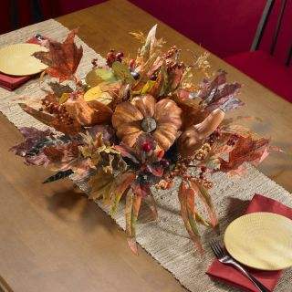 Harvest Centerpiece Silk Plant