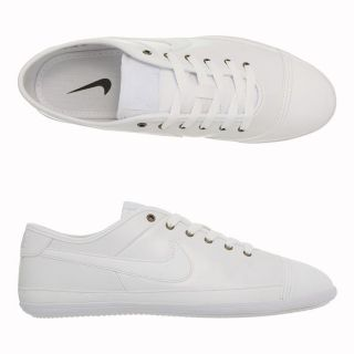 NIKE Baskets Flash Homme Blanc   Achat / Vente BASKET MODE NIKE Flash