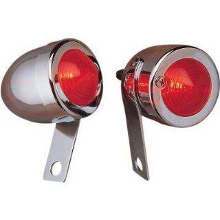 Drag Specialties Red Dual Filament Bullet Marker Light 162051 BC207