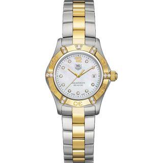 Tag Heuer Aquaracer Womens Two tone Diamond Watch