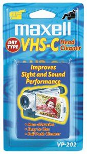 Maxell VHS C Dry Head Cleaner (VP 202)
