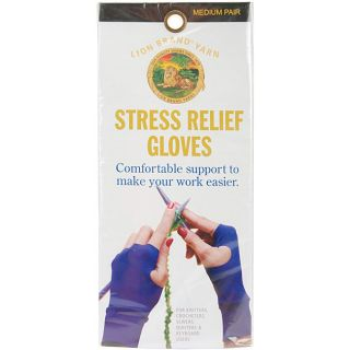 Lion Brand Knitting Stress Relief Gloves Today $14.99 4.0 (9 reviews