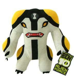 Ben 10 Alien Force 11 Inch Plush Figure Cannonbolt Toys