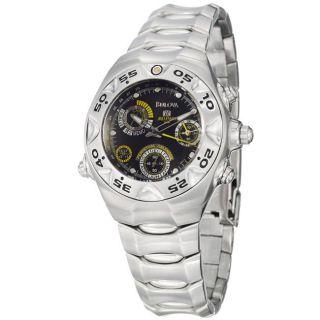 Bulova Mens Millennia Stainless Steel Quartz Watch