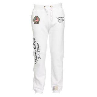 Gangster Unit Pantalon de Jogging Homme Blanc   Achat / Vente PANTALON
