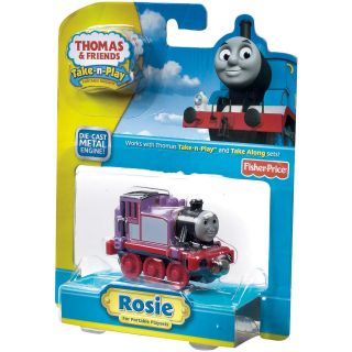 Fisher Price Thomas and Friends Small Rosie Toy Train Engine