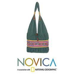 Cotton Lisu Evergreen Medium Shoulder Bag (Thailand)