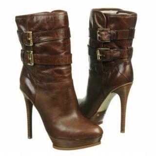 MICHAEL MICHAEL KORS Womens Mae Boot (Mocha Distressed 9.0 M) Shoes
