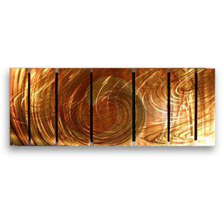 Ash Carl Initiation 7 panel Metal Wall Art Today $364.99 5.0 (1