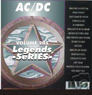 AC/DC Karaoke CD+G Legends #205 16 Song Disc Legends Music