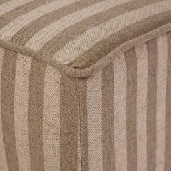Best Selling Home Tufted Beige Stripe Chair