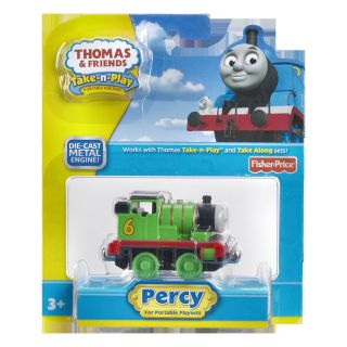 Fisher Price Thomas and Friends Take N Play Percy Toy Train Engine