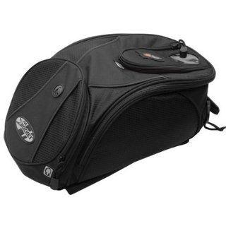 Joe Rocket XL Manta Tank Bag, Magnetic Mount Black