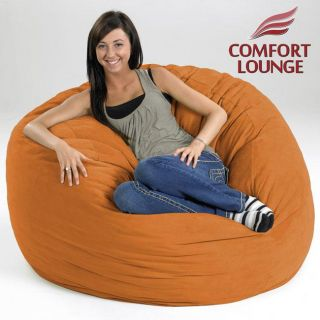 Comfort Lounge Melon Medium size Memory Foam Lounge Bag