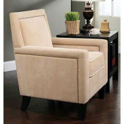 Abbyson Living Palermo Fabric Nailhead Trim Armchair