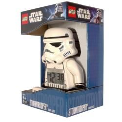 LEGO Star Wars Storm Trooper Figurine Plastic Digital Alarm clock