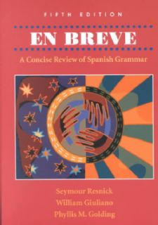 En Breve A Concise Review of Spanish Grammar (Paperback) Today $139