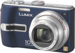 Panasonic Lumix DMC TZ3 7.2MP Blue Digital Camera