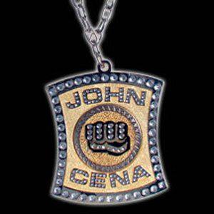 WWE Exclusive John Cena 4 Inch Spinning Fist Pendant