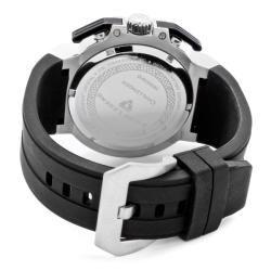 Swiss Legend Mens Challenger Black Silicone Watch