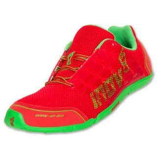 INOV 8 LLC Inov8 Bare XF 210 Mens Running Shoes, Red/Green Shoes