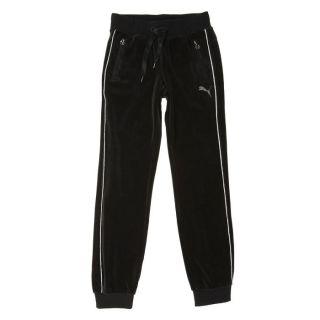 PUMA Pantalon de Survêtement Fille Noir et argent   Achat / Vente