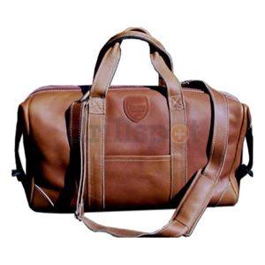 "Brown Bag Company 22622 20"" Alpine Leather Duffel/Tool Bag"