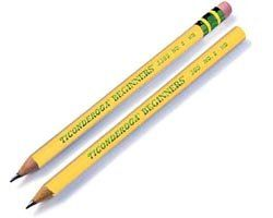 Dixon Ticonderoga Beginners Jumbo Pencil Toys & Games