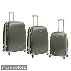 Travelers Club Barnet Collection 3 piece Hardside Expandable Spinner