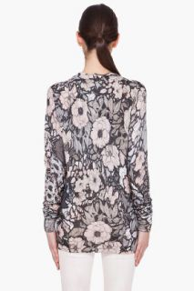 Christopher Kane Floral Silk cashmere Blend Cardigan for women