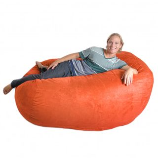 Slacker Sack 6 foot Pumpkin Oval Microfiber/ Foam Bean Bag