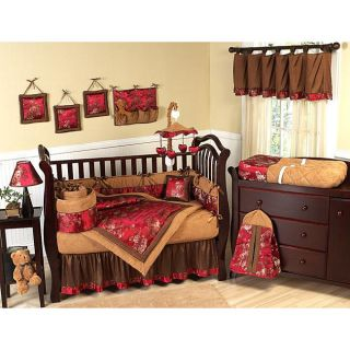 Sweet Jojo Designs Oriental Garden 9 piece Crib Bedding Set Today $