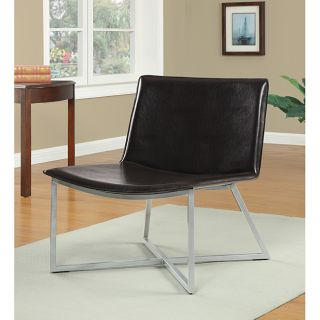 Melrose Dark Brown Bonded Leather Lounge Chair Today $99.99 4.0 (20