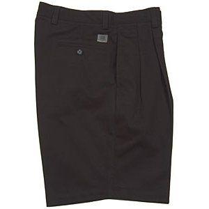 Dockers Tour Mens Pleat Cotton Shorts Clothing