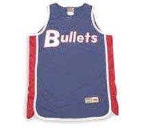 Baltimore Bullets Throwback NBA Hardwood Classic Jersey
