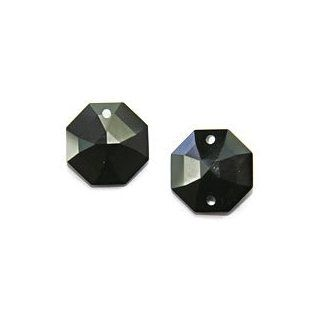 Jet Black STRASS Swarovski Crystals  1 or 2 hole Beads
