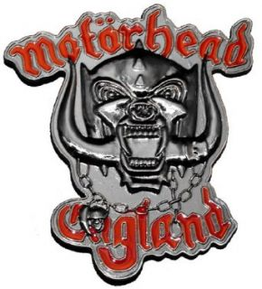 Motorhead Skull Logo England Metal Band Belt Buckle