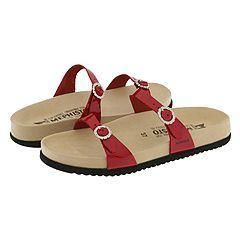 Mephisto Sydel Red Patent Sandals