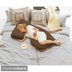 Double Extra long 72 inch Memory Foam Noodle Body Pillow Today $79.99