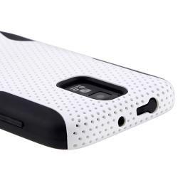 Black/ White Hybrid Case for Samsung Galaxy S II T989