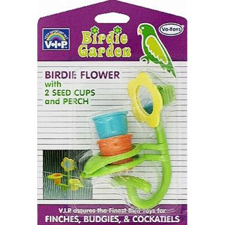 Vo Toys Birdie Garden Toy Mirror and Seed Cups Today $7.89