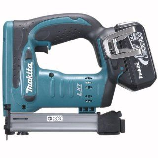 Makita BST221 18 Volt LXT Lithium Ion Cordless 3/8 Inch Crown Stapler