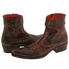 Mark Nason Laredo Dark Brown Vintage Leather