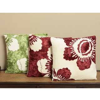Elation Throw Pillows (Set of Three) (India)