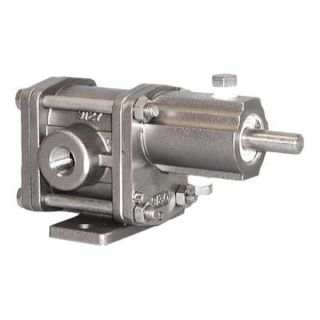 Chemsteel R10416CA Rotary Gear Pedestal Pump, GPM 2.1