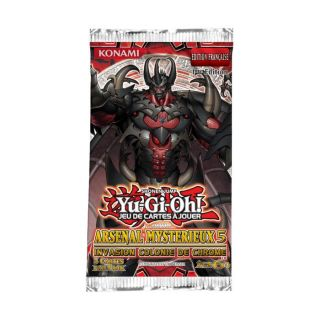 Yu Gi Oh   Arsenal Mystérieux 5: Invasion Colonie de Chrome contient