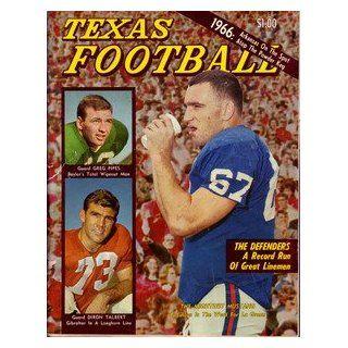1966 Dave Campbells Texas Football Magazine Collectibles
