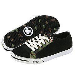DVS Shoe Company Farah W Black Suede Camo